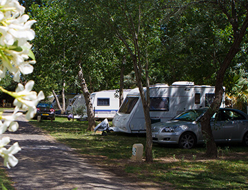 Location emplacements de Camping Canet-en-Roussillon