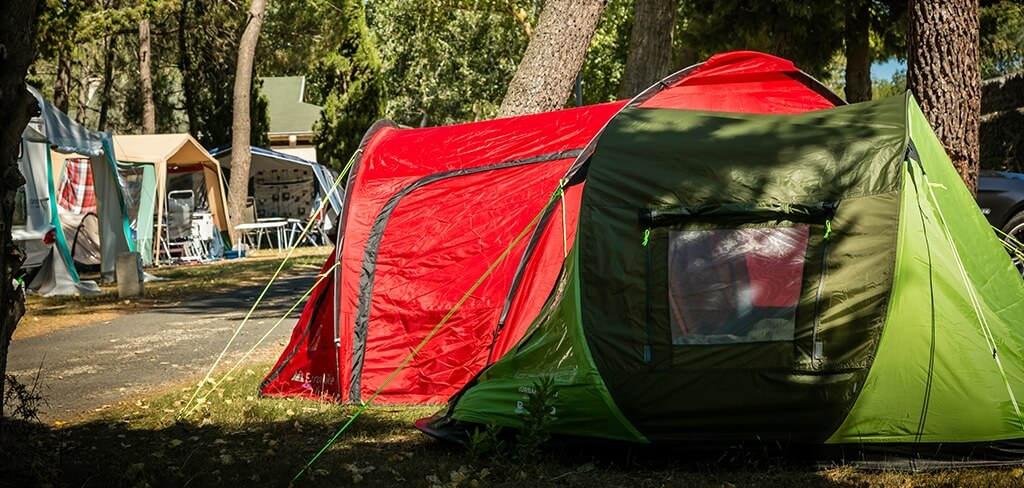 Camping pitch at Canet-en-Roussillon
