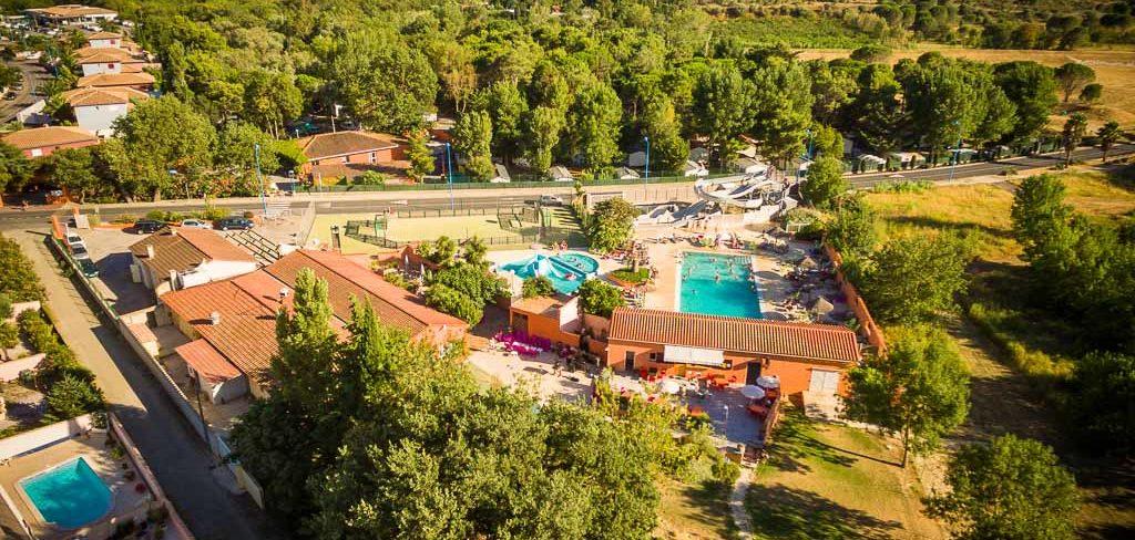 camping avec piscine et toboggan Perpignan