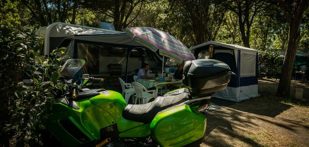 Location emplacement Camping Car Canet