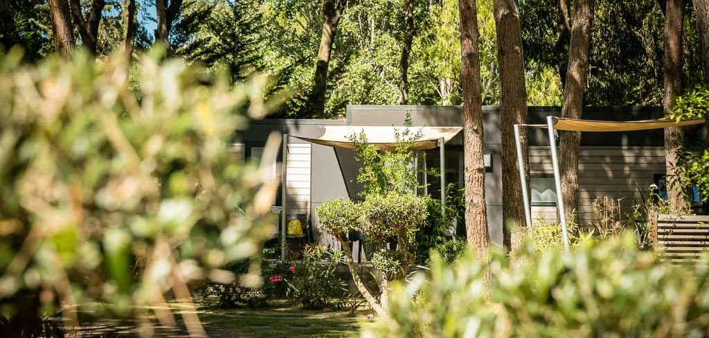 Camping 4 étoiles avec location de Mobil Homes