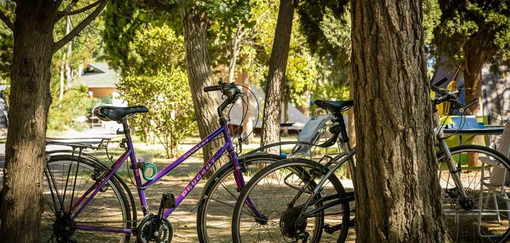 Camping avec location de Vélos Canet en Roussillon