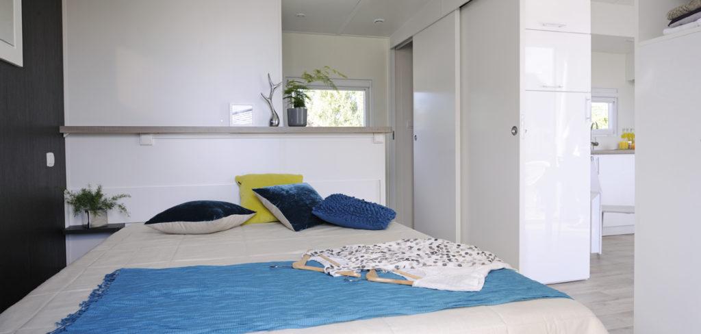 Mobil Homes à louer à Perpignan - Chambre parents