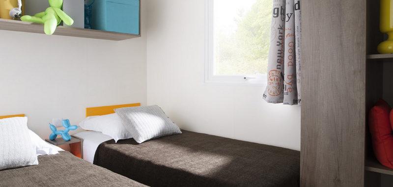 Mobil Homes Prestige 4 étoiles à louer - chambre enfant
