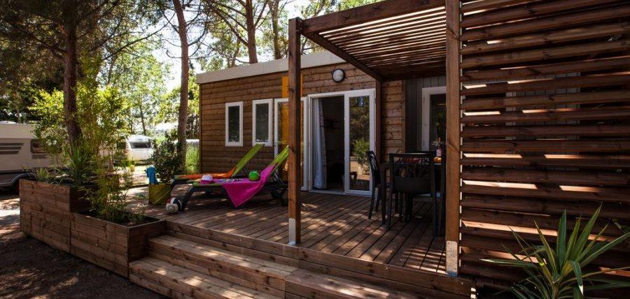 location mobil home 4 étoiles Canet en Roussillon