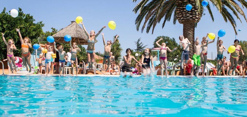 Animations et jeux d'eau sont organisés pendant l'été en toute convivialité