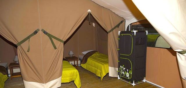 Camping location lodge Sud de la France