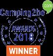 Logo Camping2be winnaar 2018