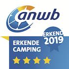ANWB, 4sterren ! Erkende camping 2019- Camping Ma Prairie à Canet enRoussillon