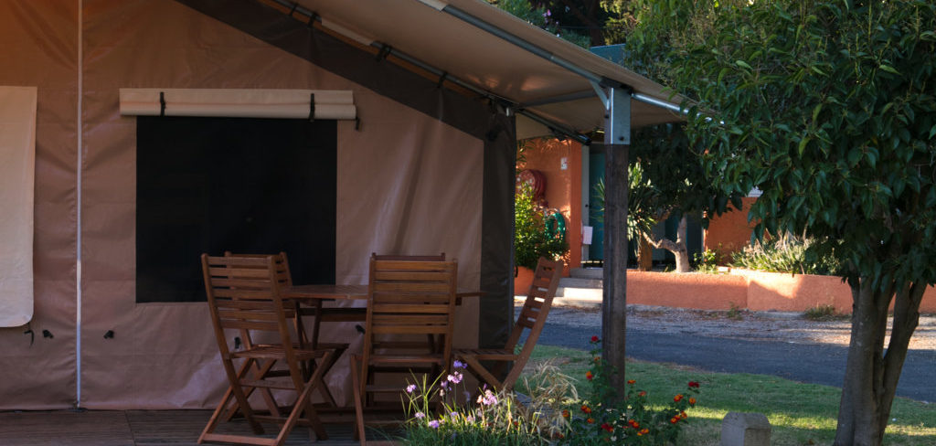 location mobil home camping - Tente équipée insolite