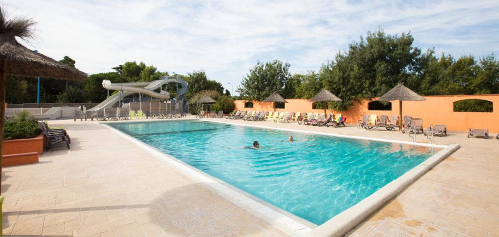 Camping 4 étoiles avec piscine dans les Pyrennées orientales