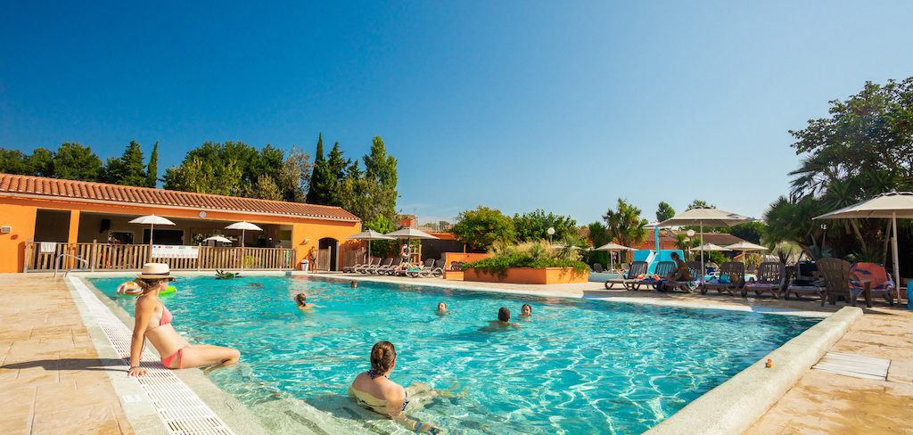 Heated Pool Camping Ma Prairie - canet en roussillon