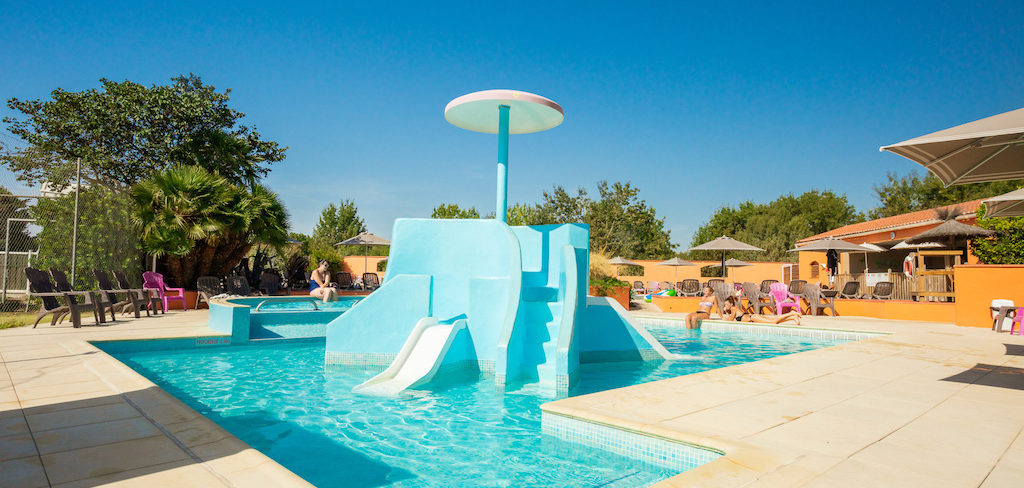 Pataugeoire Kids Camping Ma Prairie - canet en roussillon