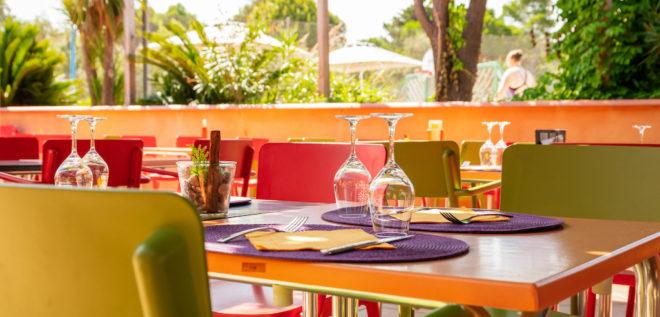 Restaurant du camping Ma Prairie, à Canet en Roussillon