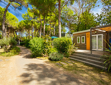 Camping Ma Prairie,  nos locations mobil-homes grand confort
