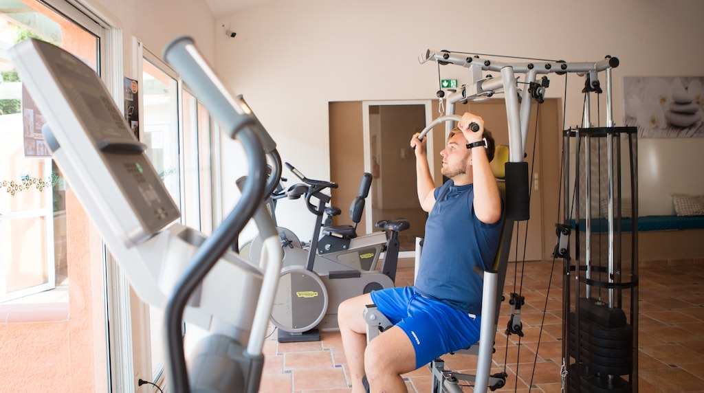 Salle de Sport & Fitness du camping Ma Prairie, Canet en Roussillon