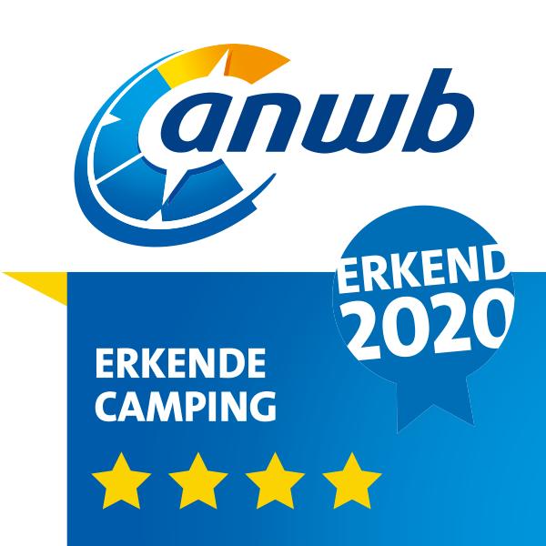 ANWB_Kamperen 2020 Erkend 4 STERREN